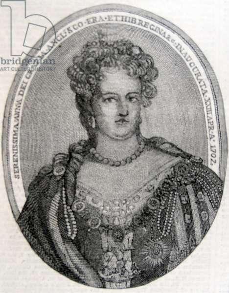 Queen Anne of Great Britain, 1860