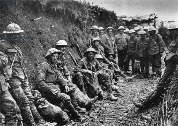 Royal Irish Rifles, 1916
