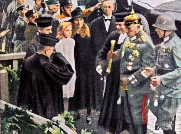 President of Germany Paul Von Hindenburg