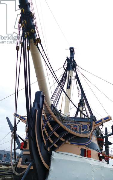 HMS Victory is a 104-gun first-rate ship of the line of the Royal Navy, 2000