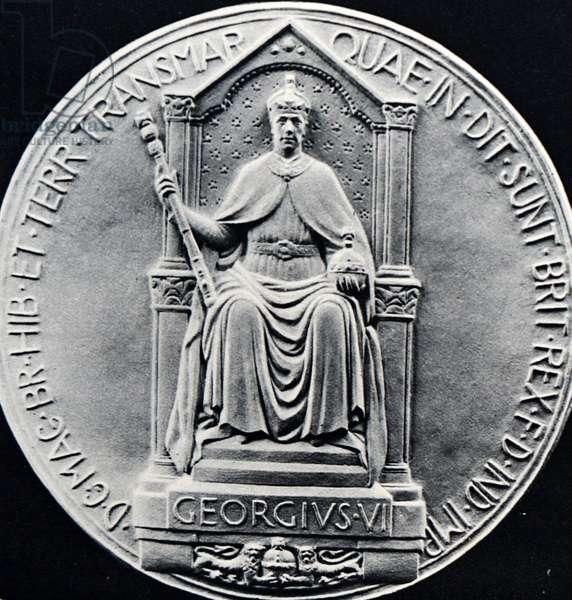 Seal of King George VI, 1950