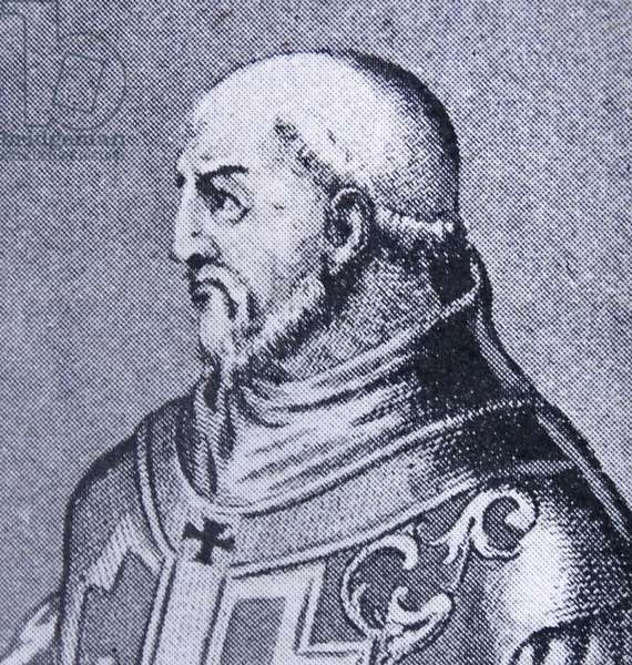 Portrait of Pope Innocent II