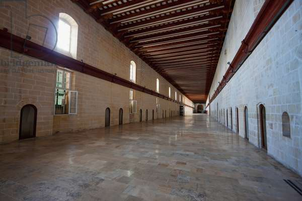 Sacra Infermeria (Infirmary of the Knights Hospitaller) in the Mediterranean Conference Centre, Valletta, Malta (photo)
