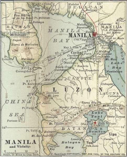 Map of Manila