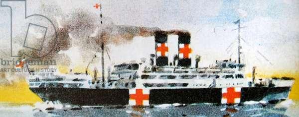 Red Cross hospital ship