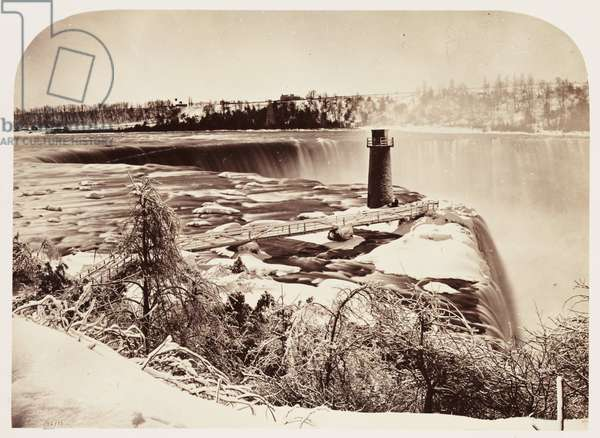 Terrapin Tower, Horse Shoe Falls', 1860
