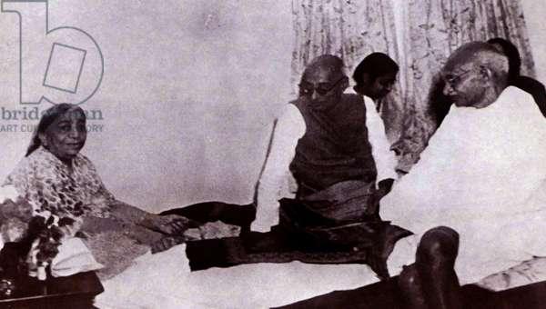 Mohandas Karamchand Gandhi with Congress Leaders