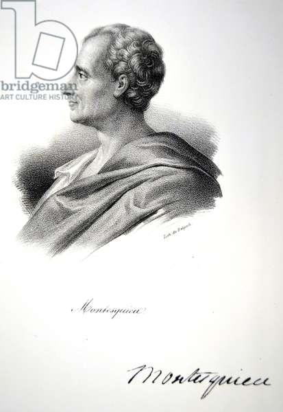 Montesquieu, 1832 (litho)
