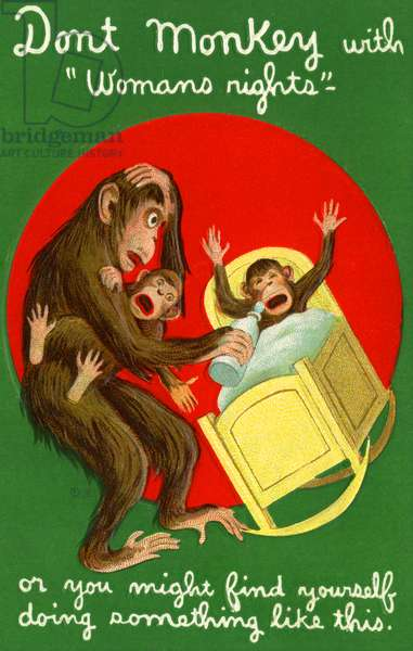 Don't Monkey With Women's Rights, 1913