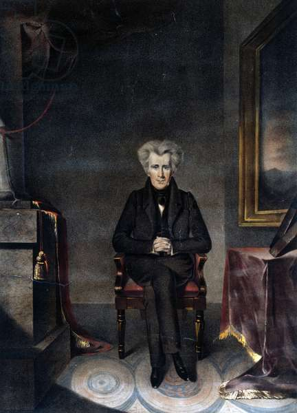 Andrew Jackson, President of the United States, 1830