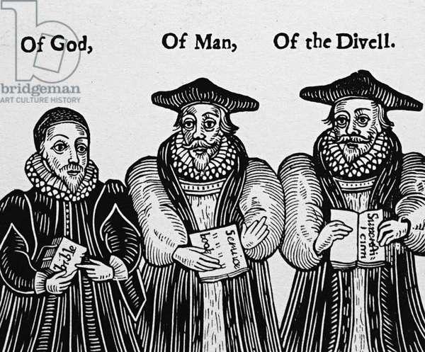 Puritan satire on William Laud Archbishop of Canterbury, 1754