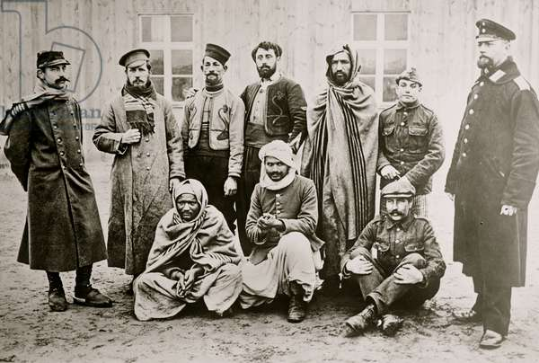 Prisoners -- Zossen, Germany (photo)