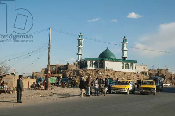 Mosque in Kabul, Afghanistan (photo)