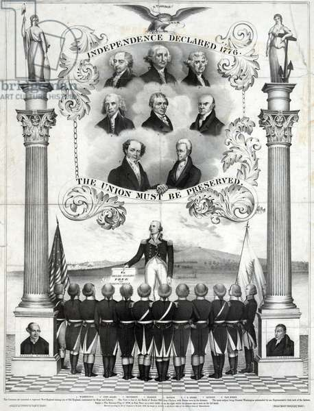 Memorial to the Declaration of Independence, 1839