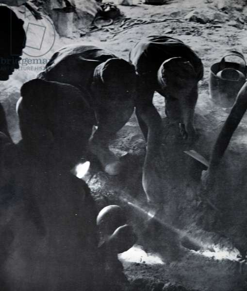 Excavation of the The Dead Sea Scrolls, 1949