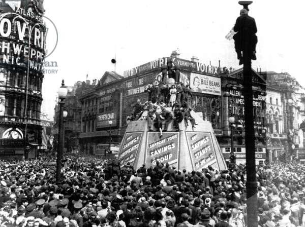 World War Two V-E-Day celebrations