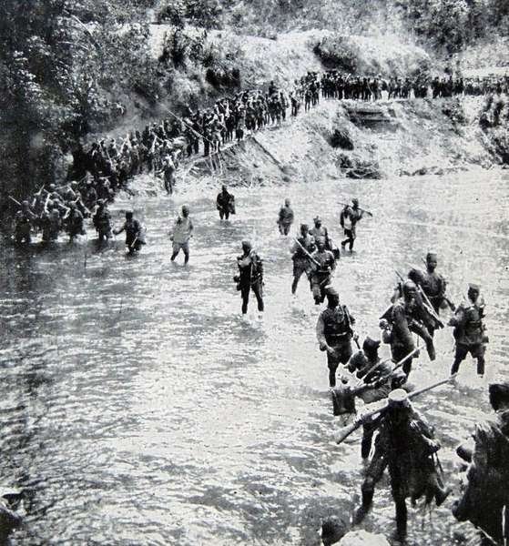 World War One, 1914