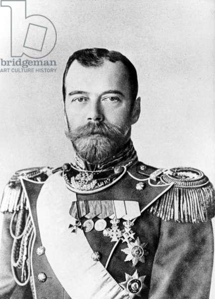 Russian Emperor, Tsar Nicholas Ll, 1914.