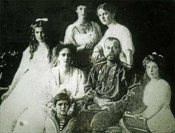 The Romanov Family.