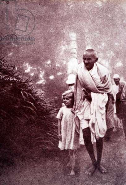 Mohandas Gandhi.