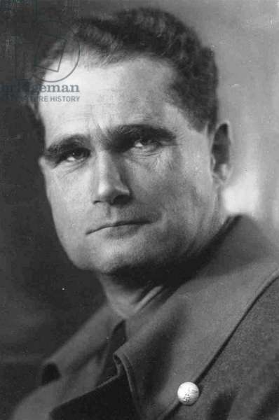 Rudolf Hess (1894-1987) prominent figure in Nazi Germany.  Acted as Adolf Hitler's deputy in the Nazi Party from 1926-1941.