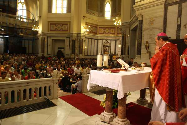 Catholic mass (photo)