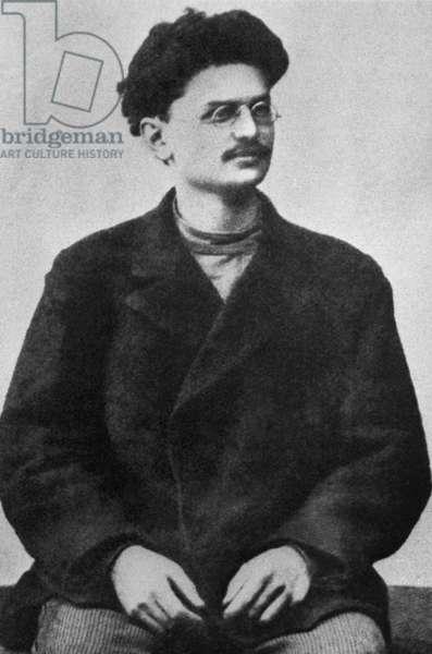 Leon Trotsky In Siberian Exile