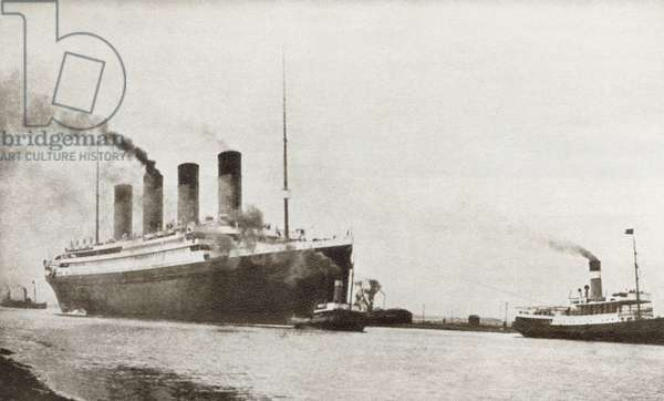 The Rms Titanic Of The White Star Line. From The Story Of 25 Eventful Years In Pictures, Published 1935 ©UIG/Leemage
