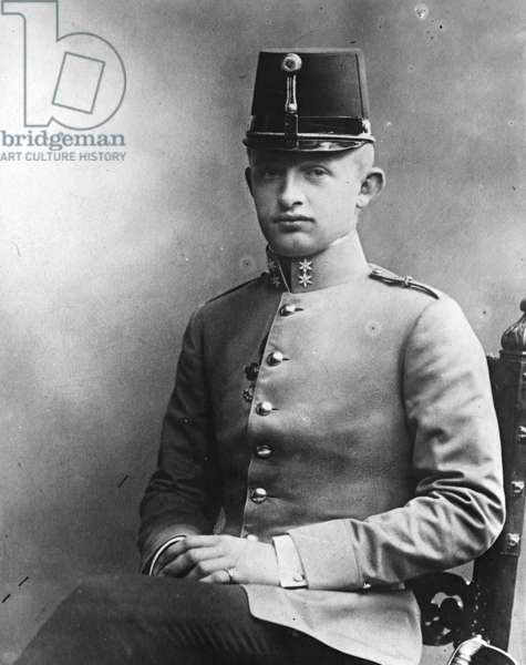 Karl I Emperor of Austria, 1903