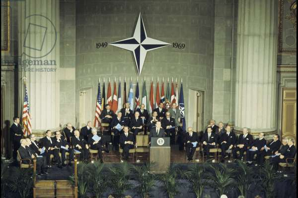 NATO Council meeting in 1970