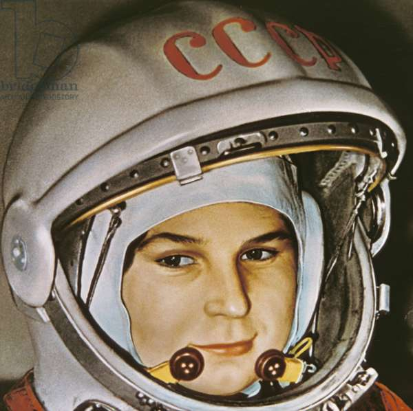 Soviet Cosmonaut Valentina Tereshkova, the First Woman in Space, Prior to her Flight Aboard Vostok 6, June 16, 1963.