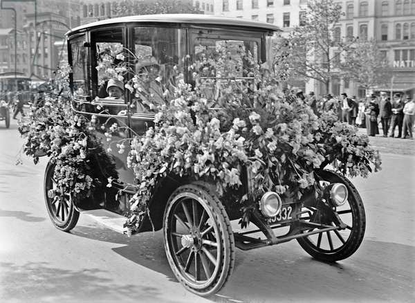 Woman's suffrage parade, 1914