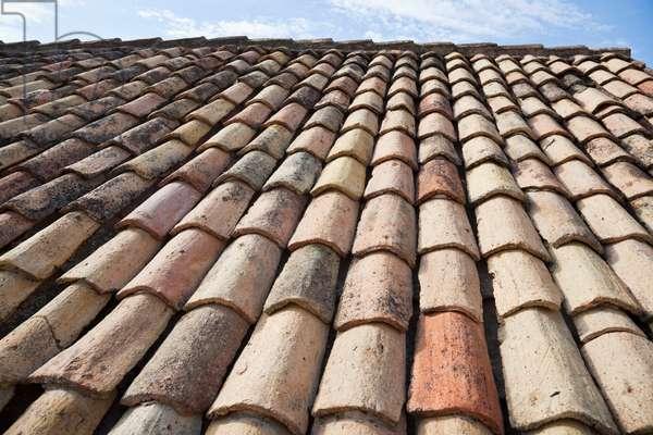 Close-Up of Rooftop at Dubrovnik, Dubrovnik-Neretva, Croatia (photo)