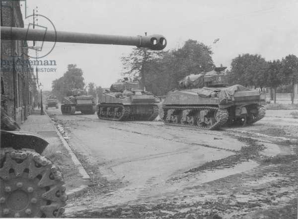 World War Two Tanks, 1942 (b/w photo)