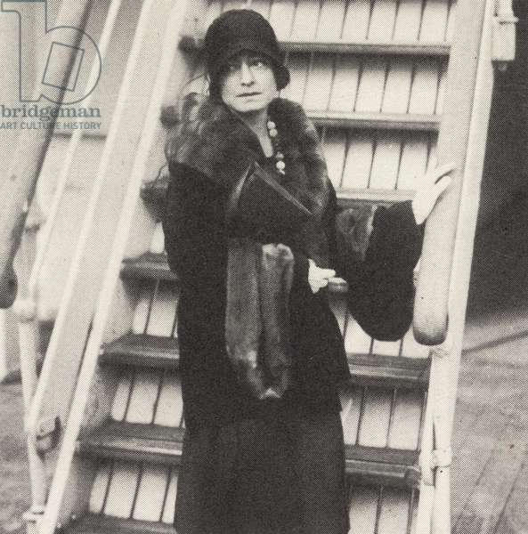 Portrait of Dorothy Parker