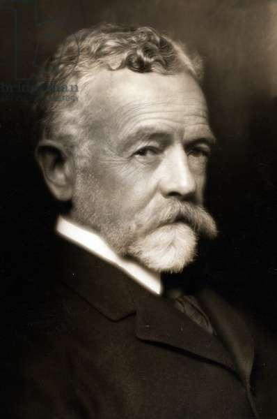 Henry Cabot Lodge (1850 – 1924) American Republican Senator.