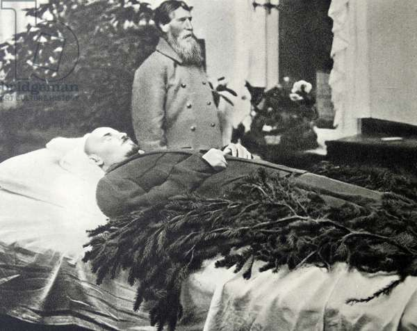 Lenin Embalmed