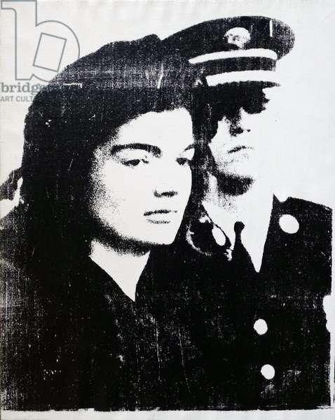 'Jackie' (Jaqueline Kennedy), 1964 (silkscreen ink on linen)