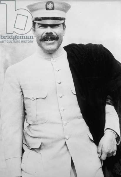 Photographic portrait of Pancho Villa