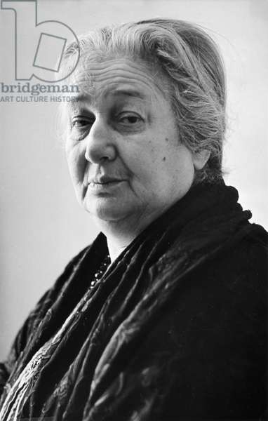 Russian Poet Anna Akhmatova (1888-1966).