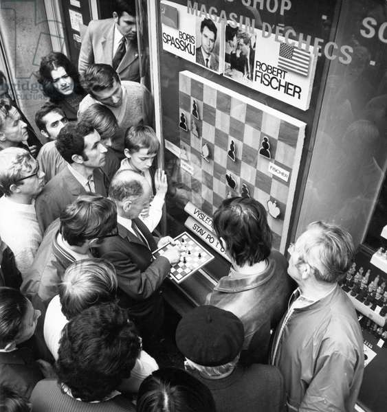 The World Chess Championships Between Bobby Fisher And Boris Spassky In Iceland, July 1972