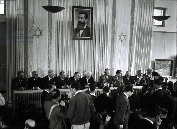 The Israeli Declaration of Independence, 1948