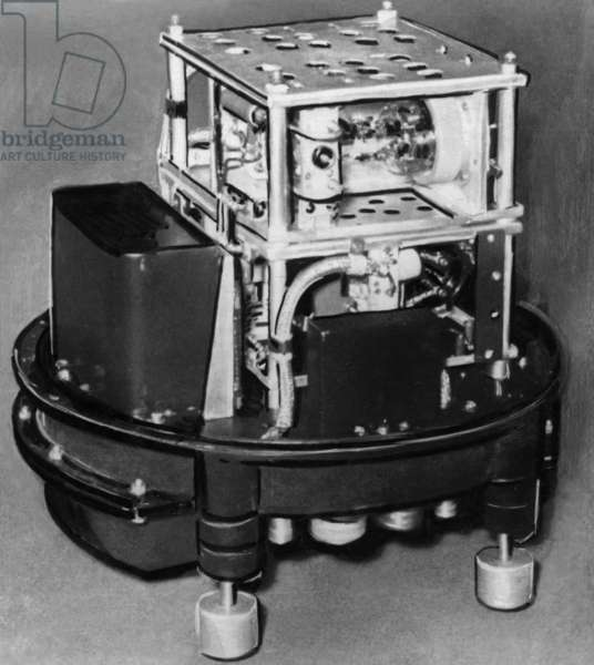 Dispersional Radiofrequency Interferometer Used on a Soviet High Altitude Experimental Rocket, (And Sputnik 3?), 1958.