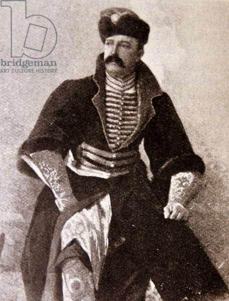 Romanov Grand Duke in dress uniform circa 1860