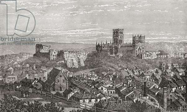 Durham Cathedral And Castle, England In The Late 19Th Century. From Our Own Country Published 1898 ©UIG/Leemage