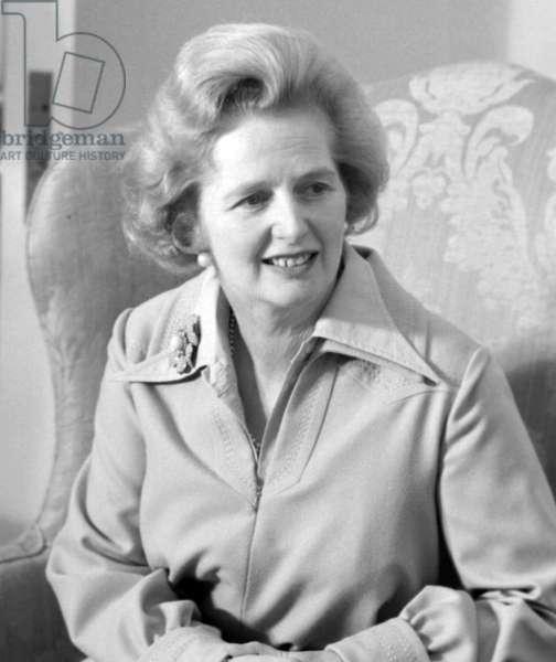 Margaret Thatcher, British Prime Minister 1979-1990