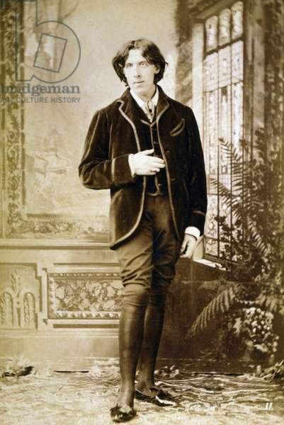 Oscar Wilde, 1890