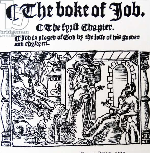 The book of Job.