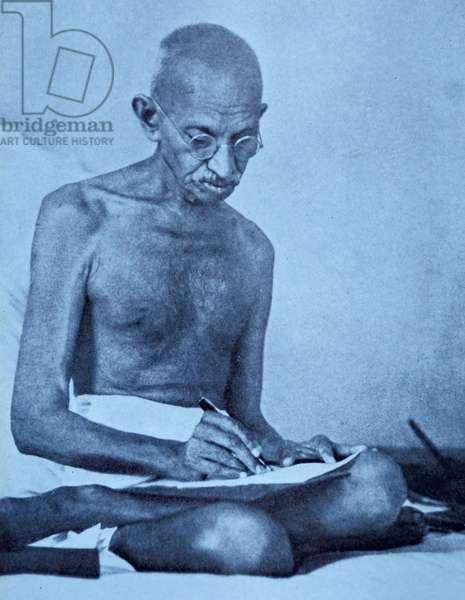 Mohandas Karamchand Gandhi (2 October 1869 – 30 January 1948)