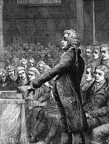 Edmund Burke, 1788